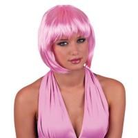 roze pruik goedkope carnavalspruiken feestpruiken