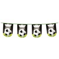 Vlaggenlijn voetbal slingers verjaardag communie