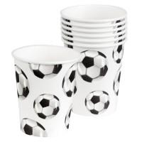 Drinkbekers voetbal verjaardag versiering