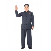 Koreaanse dictator Kim Jung Un kostuum