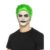 Groene pruik the Joker batman