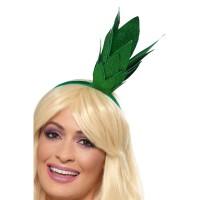 Diadeem ananas kroontje groen glitter