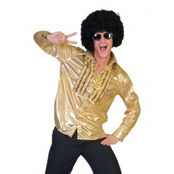 Disco Saturday Night shirt goud