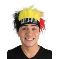 België haarband met pruik