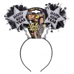 Diadeem Happy New Year zilver