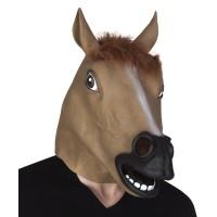 Paardenmasker bruin paardenhoofd masker