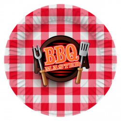 BBQ barbeque party feest versiering bordjes