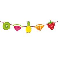 Slinger met tropisch fruit 6 meter