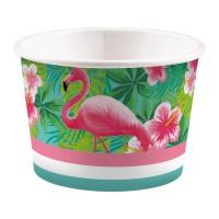 flamingo hawaii party feestartikelen bakjes