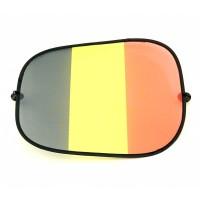 Zonnescherm auto België supporter fanartikelen gadgets