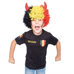 "Belgie shirt kind zwart ""Made in Belgium"""