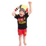 Belgie voetbaltenue kind rode duivels shirt