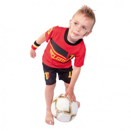 Belgie voetbaltenue kind rode duivels shirt