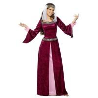 Middeleeuwse jurk Lady Marian
