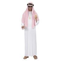 Arabische sjeik kostuum met hoofddoek