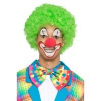 Vlinderstrik clown multicolor
