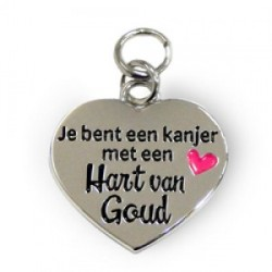 Hart van goud - Charms for you