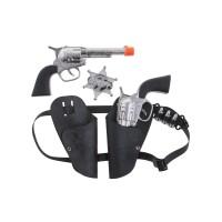 Cowboy geweer speelgoed setje