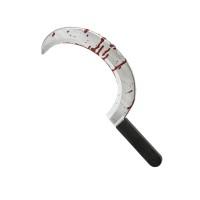 Sikkel met bloed 45 cm