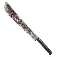 Machette met bloed 75 cm