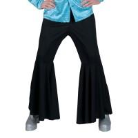 hippie broek heren disco zwart