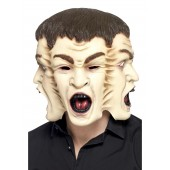enge Halloween masker latex griezel horror