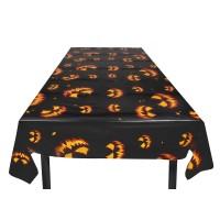 Halloween tafelkleed pompoen tafeldecoratie versiering