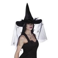 Heksenhoed Esmeralda zwart