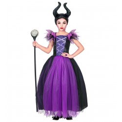 Maleficent kostuum kind Halloween pakje