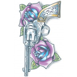 Day of the Dead Tattoo pistola
