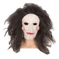 Halloween masker Jigsaw met haar