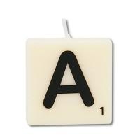 Letter kaarsje letter A
