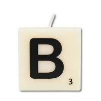 Letter kaarsje letter B