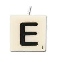 Letter kaarsje letter E