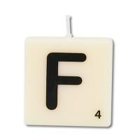 Letter kaarsje letter F