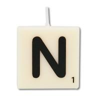 Letter kaarsje letter N