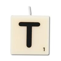 Letter kaarsje letter T