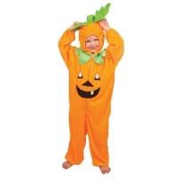 Halloween Pompoen Kostuum Kind