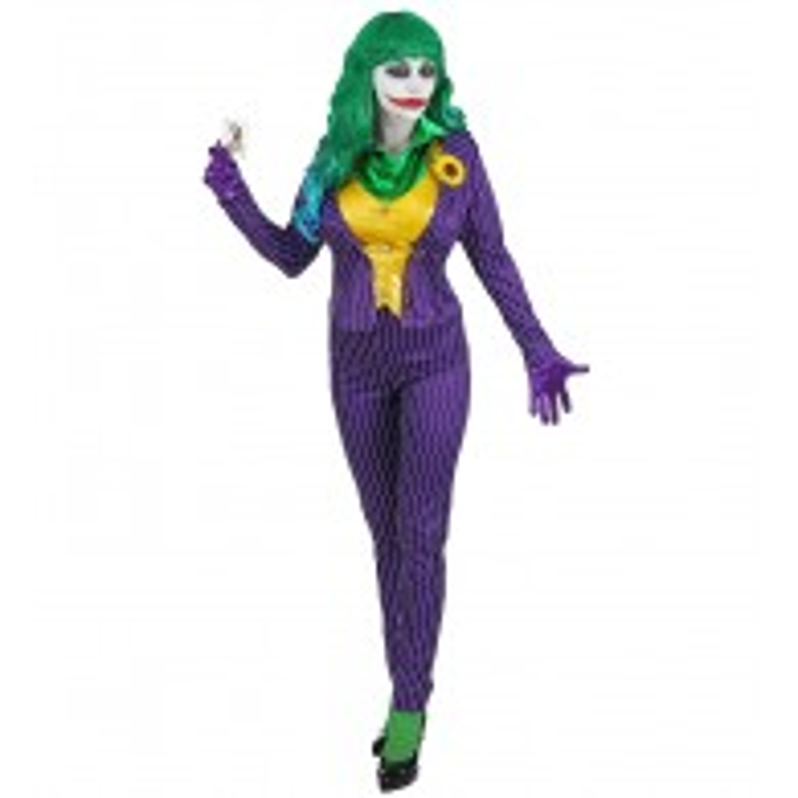 The Joker kostuum dames