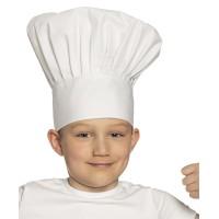 Koksmuts wit voor kind