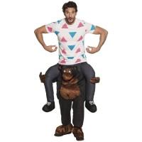 Gedragen door gorilla instap kostuum