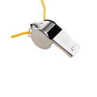 Scheidsrechter fluitje metaal