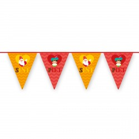 Sinterklaas decoratie vlaggenlijn 6m