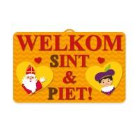 Sinterklaas wanddecoratie 3D