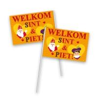 Sinterklaas zwaaivlaggetjes versiering decoratie vlaggetjes sint