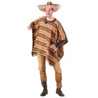 Mexicaanse poncho El Sancho volwassenen