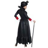 Victoriaanse vampier jurk dames Halloween kostuum