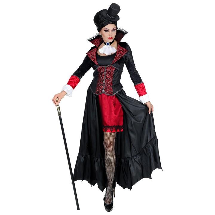 Victoriaanse vampier jurk dames Halloween