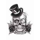 Gothic Tattoo vampier plaktattoo neptattoo