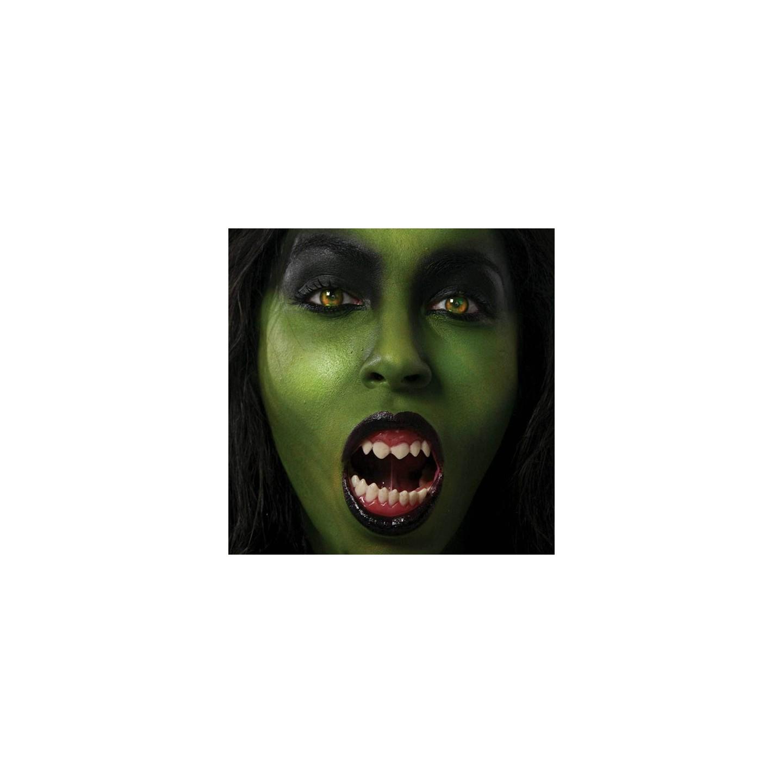 Halloween kannibaal tanden professioneel gebitje